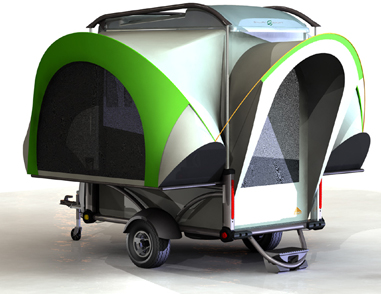 Sylvan Sports Pop Up Camper