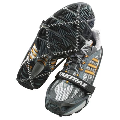 Yaktrax and Frankenspikes: Gear for Running Uphill on Snow