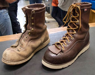 Factory Tour Leather Boots Made In Usa At Danner Gear