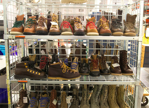Factory Tour: Leather Boots, Made in USA, at Danner