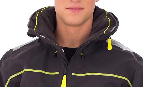 15a50a5e6a Fleece-lined collar, reflective patches are features on HP Race jacket