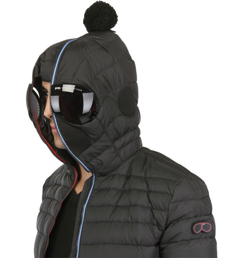 AI-Riders on the storm winter jacket with goggles built in hood